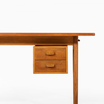 Poul Volther desk in teak and oak by FDB Møbler at Studio Schalling