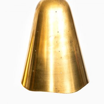 Ceiling lamp in brass by unknown designer at Studio Schalling