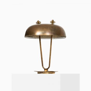 Paavo Tynell table lamp in brass by Taito Oy at Studio Schalling