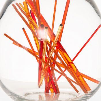 Monica Backström sculpture in shape of an egg at Studio Schalling