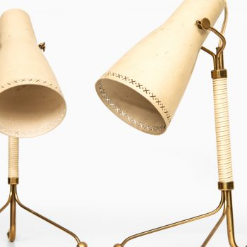 Pair of table lamps attributed to Hans Bergström at Studio Schalling