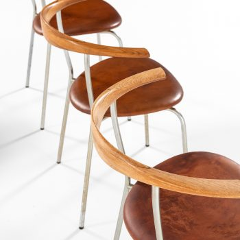 Hans Wegner armchairs model JH-701 by Johannes Hansen at Studio Schalling