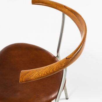 Hans Wegner armchairs model JH-701 by Johannes Hansen at Studio Schalling