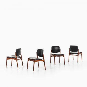 Erik Buck dining chairs model Captain at Studio Schalling