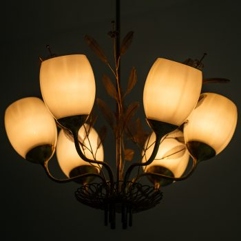 Paavo Tynell ceiling lamp model 9029/6 by Taito Oy at Studio Schalling