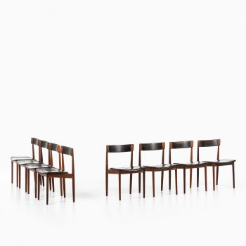 Henry Rosengren Hansen dining chairs model 39 at Studio Schalling