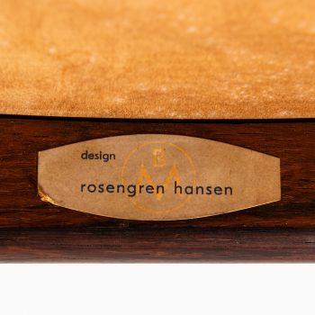 Henry Rosengren Hansen dining chairs model 39 at Studio Schalling