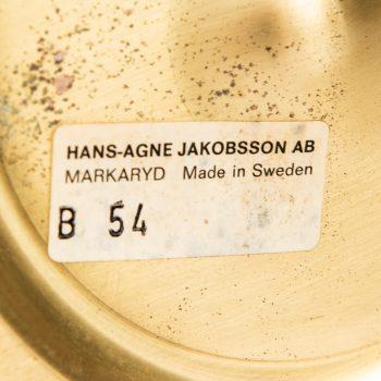 Hans-Agne Jakobsson table lamp model B-54 at Studio Schalling