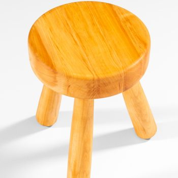 Ingvar Hildingsson stool in birch at Studio Schalling