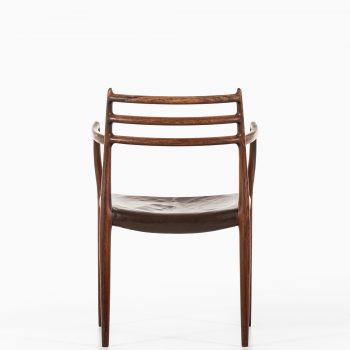 Niels O. Møller armchair model 62 in rosewood at Studio Schalling