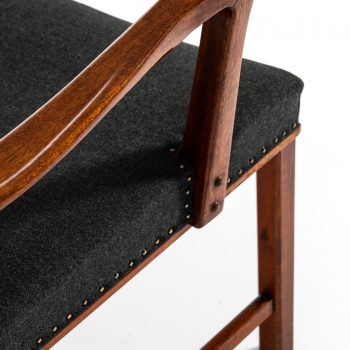 Conference chairs / armchairs in mahogany by Bodafors at Studio Schalling