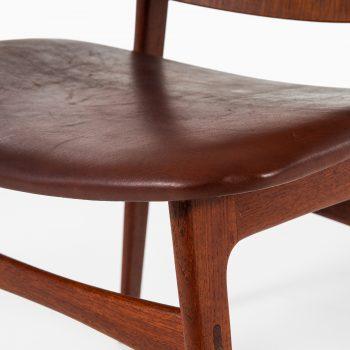 Børge Mogensen shell chairs model 122 in teak at Studio Schalling