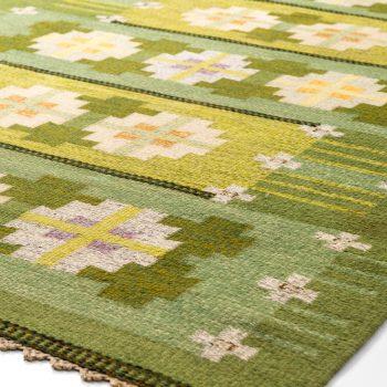 Ingegerd Silow flatweave carpet at Studio Schalling