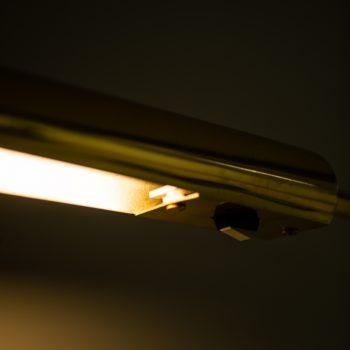 Bergbom floor lamps model G-300 in brass at Studio Schalling