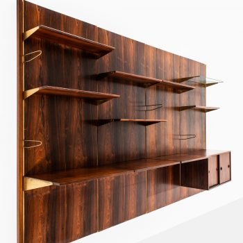 Finn Juhl bookcase in rosewood by Bovirke at Studio Schalling