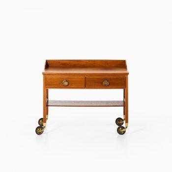 Kerstin Hörlin-Holmquist trolley in mahogany and brass at Studio Schalling