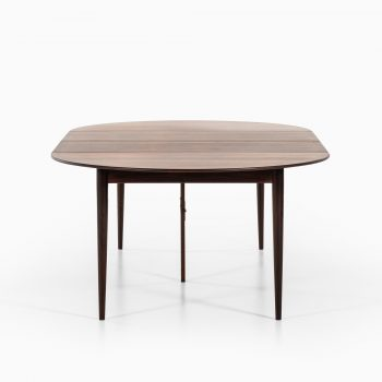 Grete Jalk dining table in rosewood at Studio Schalling