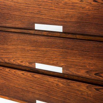 Kai Kristiansen sideboard in rosewood and aluminium at Studio Schalling