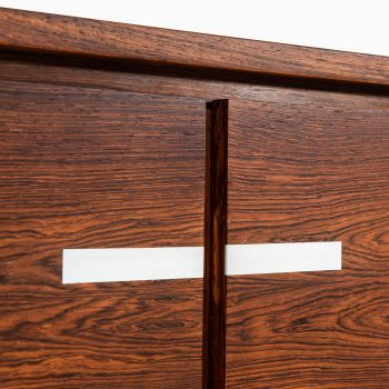 Kai Kristiansen sideboard in rosewood and aluminium at Studio Schalling
