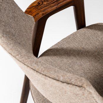 Erik Kirkegaard armchairs in rosewood at Studio Schalling