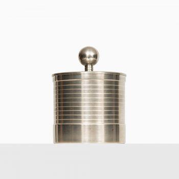 Pewter jar by GAB in Sweden at Studio Schalling