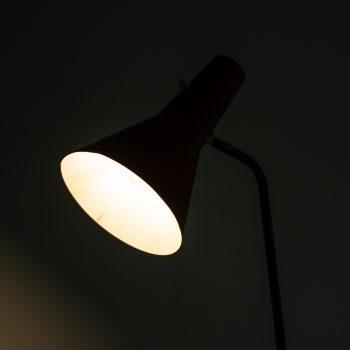 ASEA Floor lamp in red lacquered metal at Studio Schalling