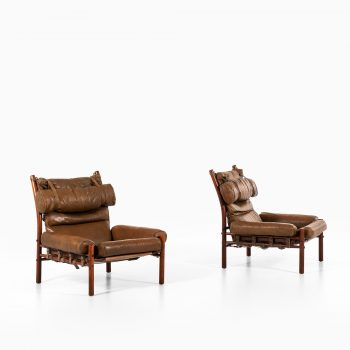 Arne Norell Inca easy chairs by Arne Norell AB at Studio Schalling