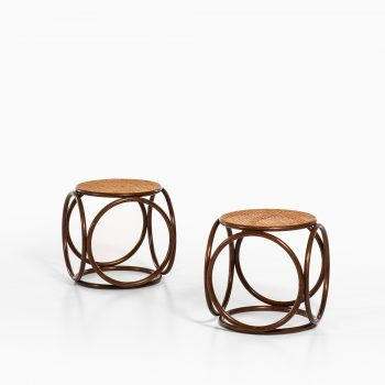 Michael Thonet stools produced by Thonet at Studio Schalling