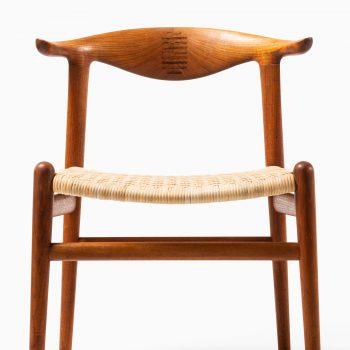 Hans Wegner JH-505 cowhorn armchairs at Studio Schalling
