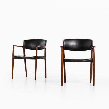 Aksel Bender Madsen & Ejner Larsen armchairs by Willy Beck at Studio Schalling