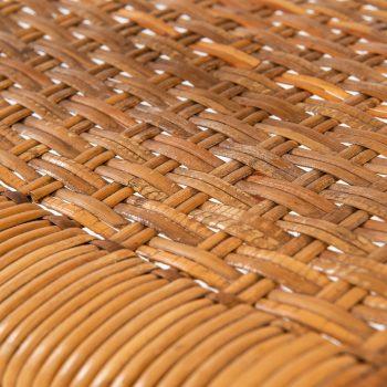 Aksel Bender Madsen & Ejner Larsen armchair in woven cane at Studio Schalling