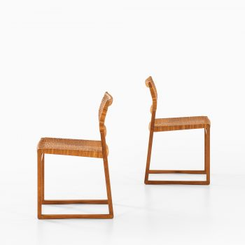 Børge Mogensen dining chairs model BM-61 and BM-62 at Studio Schalling