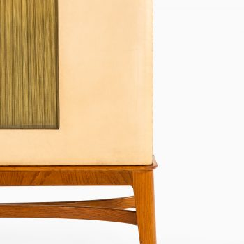 Otto Schulz cabinet in artificial leather at Studio Schalling
