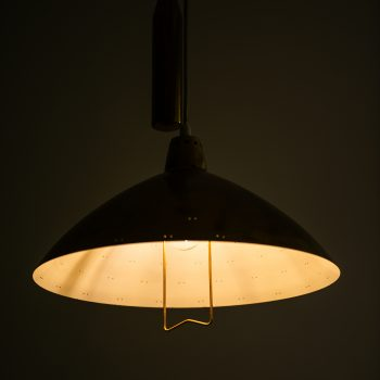 Itsu counter weight ceiling lamp in the style of Paavo Tynell at Studio Schalling