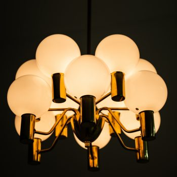 Hans-Agne Jakobsson ceiling lamp model T372/12 at Studio Schalling