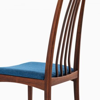 Rosewood dining chairs attributed to Niels Kofoed at Studio Schalling