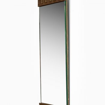 Mirror in bronze at Studio Schalling