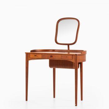 Carl Malmsten Birgitta vanity in teak by Bodafors at Studio Schalling