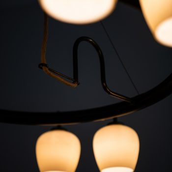 Vilhelm Lauritzen ceiling lamp by Fog & Mørup at Studio Schalling