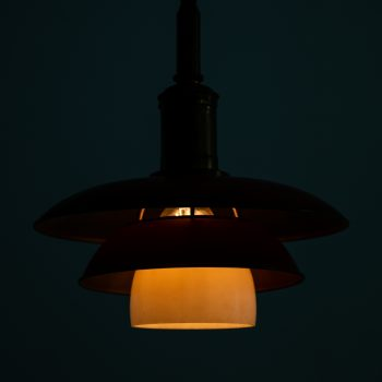 Poul Henningsen ceiling lamp model PH-3/3 by Louis Poulsen at Studio Schalling