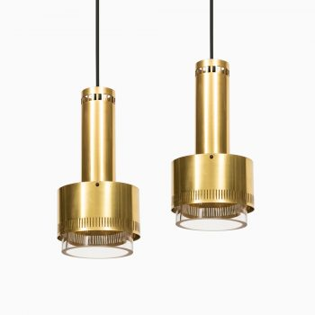 Kay Kørbing ceiling lamps produced by Lyfa at Studio Schalling