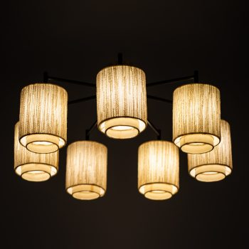 Ceiling lamp / flush mount with 7 arms at Studio Schalling