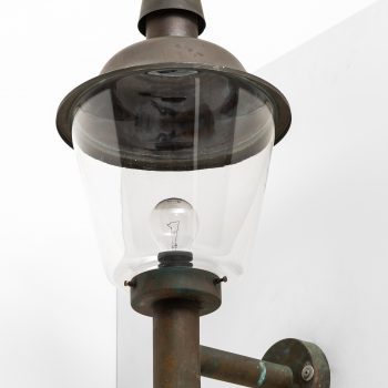 Large outdoor wall lamps by Fagerhults Belysning at Studio Schalling