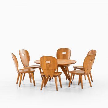 Carl Malmsten coffee table in pine by Svensk fur at Studio Schalling