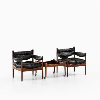 Kristian Solmer Vedel easy chairs model Modus at Studio Schalling