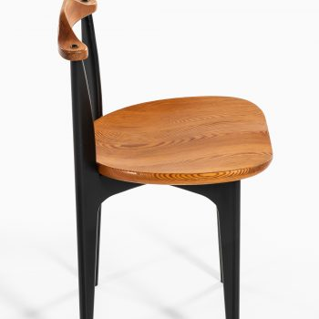 Yngve Ekström dining chairs model Thema by Swedese at Studio Schalling