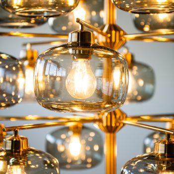 Holger Johansson large ceiling lamp by Westal at Studio Schalling