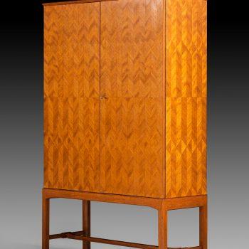 Eyvind Beckman cabinet in mahogany at Studio Schalling