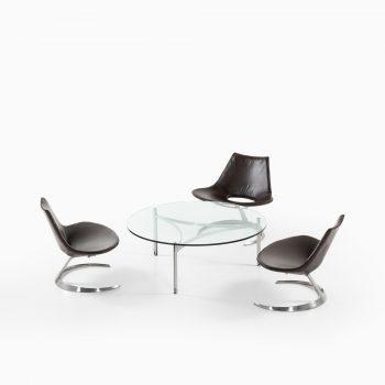 Preben Fabricius & Jørgen Kastholm Scimitar seating group at Studio Schalling