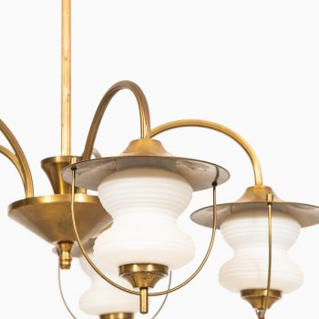 A pair of ceiling lamps by unknown designer at Studio Schalling